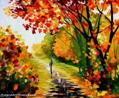 Palette Knife Paintings for Sale | MuseumArtPaintings.com