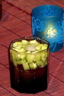Drink z ogórkiem - Moje Małe Czarowanie - Dorota Owczarek Pickles, Cucumber, Food, Essen, Meals, Pickle, Yemek, Zucchini, Eten