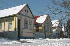 Winter in Feked...  Feked wird als Perle der ungarndeutschen Architektur bezeichnet! #svábház #sváb