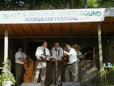 White's Beach and Campground.  Bluegrass festival on the 18th/19th.