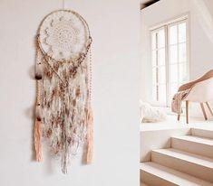 Dream catcher boho bohemian wall hanging dreamcatcher