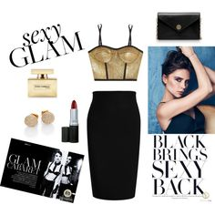 """""""Glam Look"""" by fashion-district on Polyvore"""