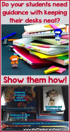 All Things Upper Elementary: A Solution to Messy Desks