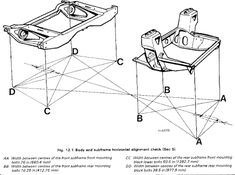Image result for austin mini rear subframe mounting dimensions Austin Seven, Classic Mini, Cars And Motorcycles, Mini Coopers, Blue Prints, Minis, Madness, Restoration, Image