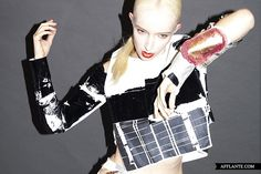 'Crash' Fashion Collection // Gemma Fanning