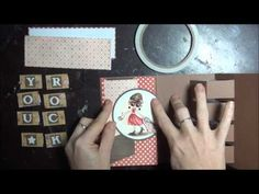 video tutorial: Building Block Card - with all dimensions for completing a card