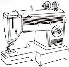 Viking Husqvarna 990 Prisma Sewing Machine Instruction