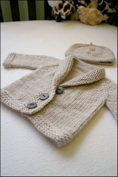 Le Baby Sophisticate Cardigan
