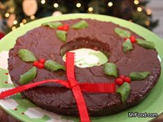 Not only does this Chocolate Wreath Fudge taste delicious, but it looks beautiful, too. It will add to your table decor until it gets eaten!