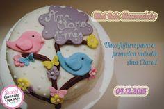 Sweet Cucas and Cupcakes by Rosângela Rolim: Mini Bolo Mesversário