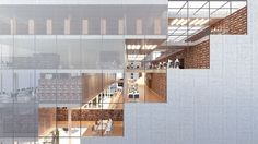 Architects for Urbanity · Varna Regional Library ''Pencho Slaveykov'', 1st prize competition winner · Divisare