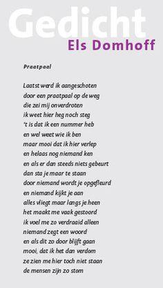 gedicht Els Domhoff
