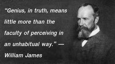 William James - Genius