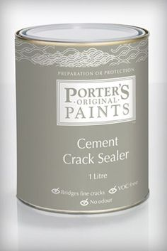 Porter's Cement Crack Sealer is for use prior to painting over new cement render or bagging that shows non-structural hairline cracking. Designed to bridge cracks up to Remains flexible throughout its life. Timber Furniture, Refurbished Furniture, Painted Furniture, Furniture Ideas, Cement Render, Paint Sealers, Painting Cement, Handmade Paint, Annie Sloan Chalk Paint