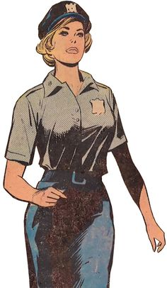 Lady Cop (DC Comics 1st issue special). From http://www.writeups.org/lady-cop-warner-dc-comics-first-issue-special/