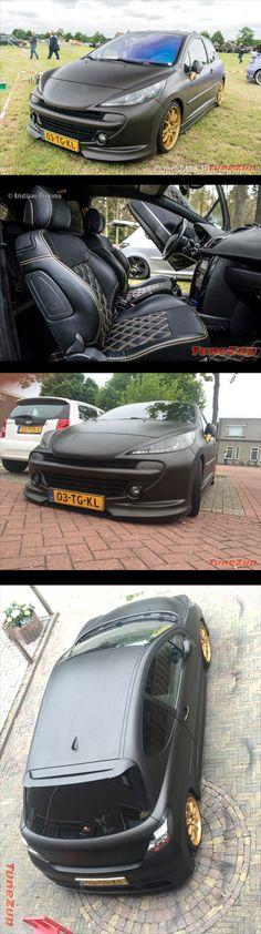 #Tuned #Peugeot207 #Showcar
