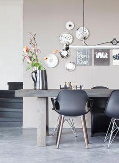 Dining room via VT Wonen