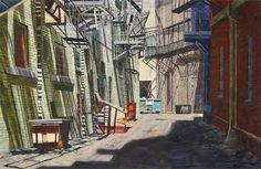 Alley Shadows by Scott Hartley