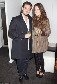 Ladies man: Spencer's book will tell all about his love life including his friendship with Binky Felstead, pictured