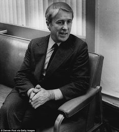 Malachi Martin, pictured, died of a head trauma after a fall which he described to friends as being caused by a push from an invisible force