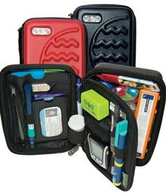 Multi-fit Case by Diabete-ezy available at www.oneand2.com.au. Diabetes  BagType One ... cd6e9be593661