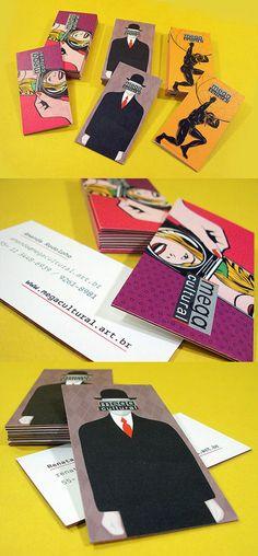 Diseño Megacultural buena tarjeta de visita
