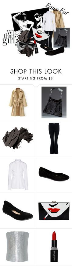 """Jack Rabbit Slims"" by jennifreak78 ❤ liked on Polyvore featuring WithChic, FRR, Bobbi Brown Cosmetics, 10 Crosby Derek Lam, Helmut Lang, Com Fancy, G.H. Bass & Co., Charlotte Olympia, Plukka and Smashbox"