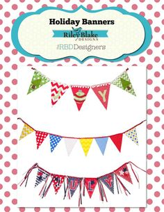 Holiday Banners Free Project Sheet