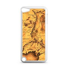 Middle Earth Map The Hobbit iPod Touch 5 Case