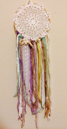 #Handmade Dreamcatcher. #DIY #craft