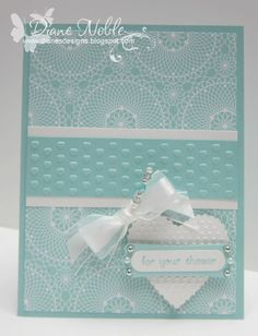 Bridal Shower card by luv2stamp50 - Cards and Paper Crafts at Splitcoaststampers
