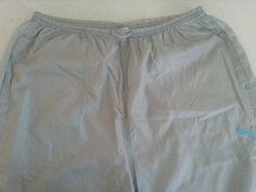 Men's PUMA Sportswear Pants M Gray Solid Pleated 100% Nylon Two Pockets Front  #PUMA #Pleated #ebay #PUMA #Pleated #SportswearPantsMGray