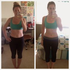 Whole 30 challenge : before and after