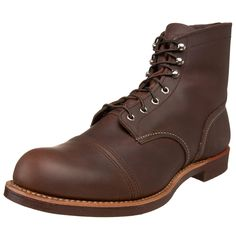 """Red Wing Heritage Iron Ranger 6"""" Boot,Amber Harness,10.5 D(M) US"""