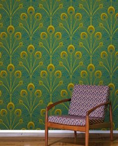 Sarah LaVoie Peacock Wallpaper TilesSKU: JE_DYW_Peacock  View Product Details   Price: $48.60