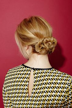 Updos - Easy Hairstyle Tutorials For Chignon, Twists