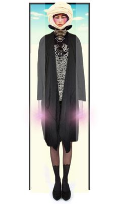 """""""Goddess of the Ultraviolet Rays"""" by giddyhill on Polyvore"""