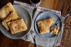 Tomato and Cream Cheese Turnovers on Food52
