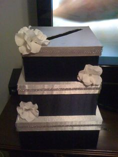 DIY wedding card boxes