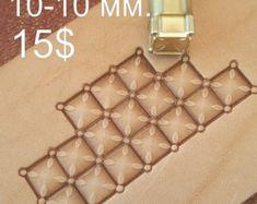 Herramientas para artesanías. Sello 70 L por LeatherStampsTools