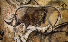 Rhino from the Chauvet-Pont-d'Arc Cave - approximately 30,000 years old.
