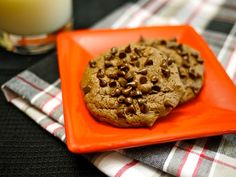 Rocco DiSpirito'sTriple Chocolate Cookies recipe... 45 calories, made with one fascinating ingredient that cuts out the use of flour AND butter!