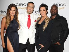 The Kardashian-Jenner family was out en masse to celebrate French Montana's birthday, including matriarch Kris Jenner, who made her first public appearance with new beau Corey Gamble.
