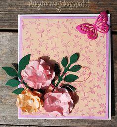 Auguriamo!: Una card fiorita