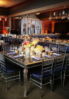tables formal elegant jewish dc area wedding Love Life Images 550x796 Formal Fall Wedding Reception at Bnai Israel in MD: Dorie + Mark