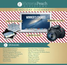 Victoria Peach Divisions 1K Holiday Giveaway!