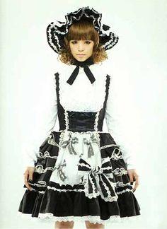 Gothic Lolita fashion.