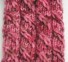 Ravelry: Cable Twist Socks pattern by Adrian Bizilia