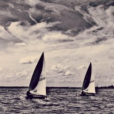 Try sail in black and white :)