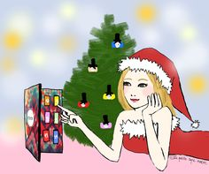 My drawing and article about the #Ciaté #nail #polish advent #calendar : http://www.lapetitecapenoire.com/2012/11/we-wish-you-ciate-christmas.html ! Also seen on #Ciaté website homepage : www.ciate.co.uk !